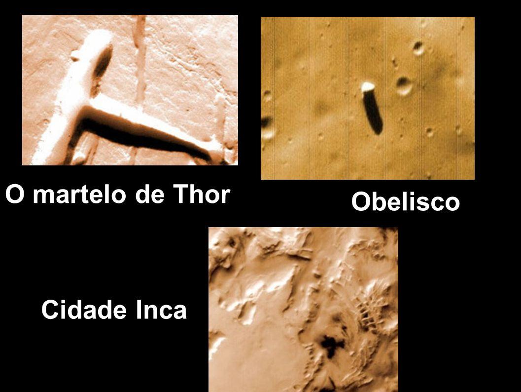 O martelo de Thor Obelisco Cidade Inca