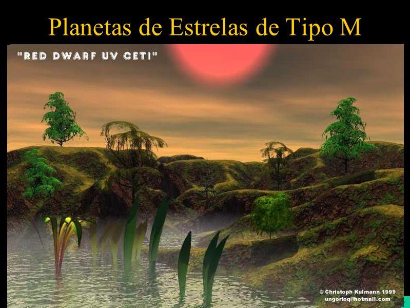 Planetas de Estrelas de Tipo M