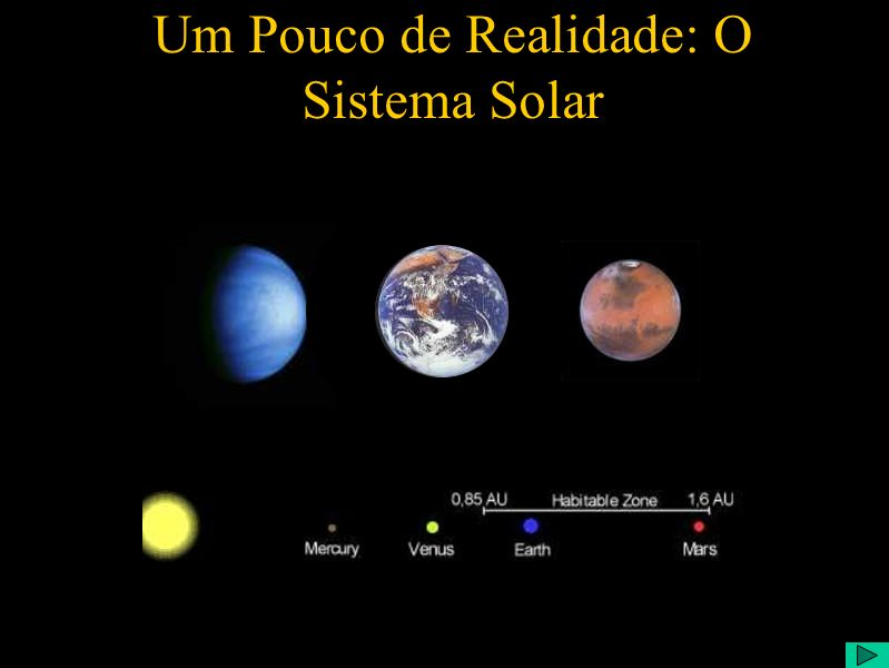 Um Pouco de Realidade: O Sistema Solar