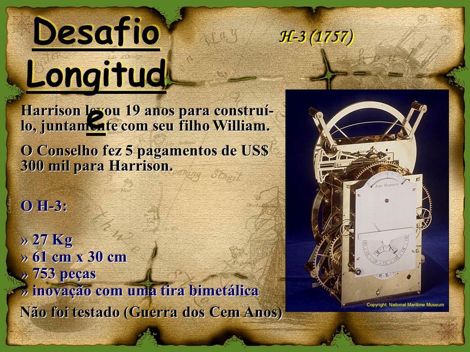 H-3 (1757) O H-3: » 27 Kg » 61 cm x 30 cm » 753 peças » inovação com uma tira bimetálica O H-3: » 27 Kg » 61 cm x 30 cm » 753 peças » inovação com uma