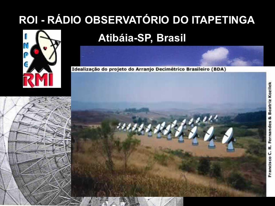 ROI - RÁDIO OBSERVATÓRIO DO ITAPETINGA Atibáia-SP, Brasil