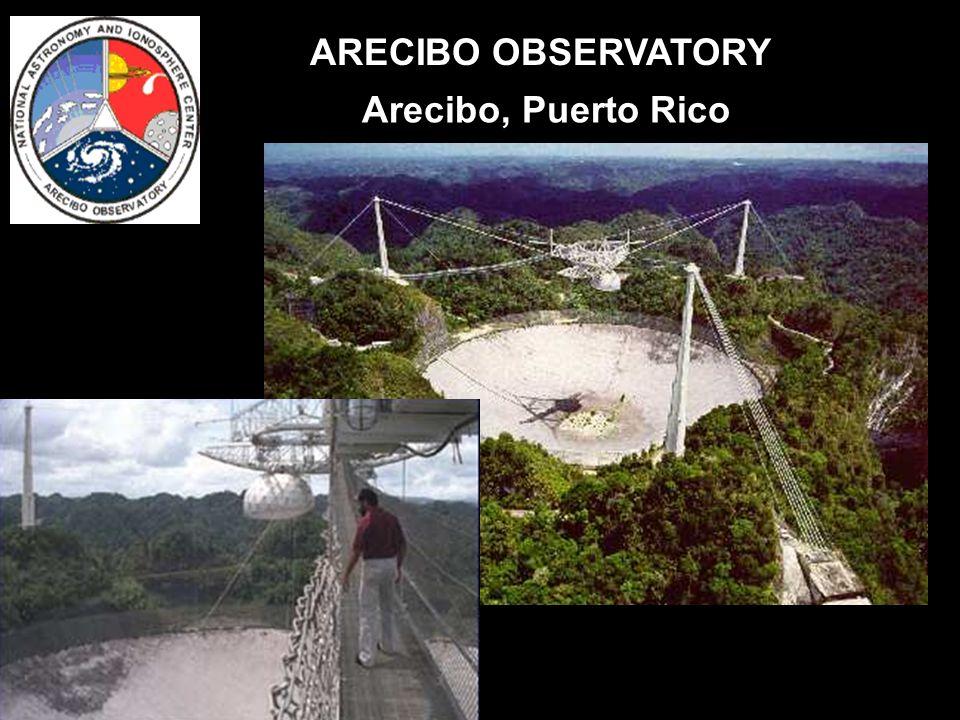ARECIBO OBSERVATORY Arecibo, Puerto Rico