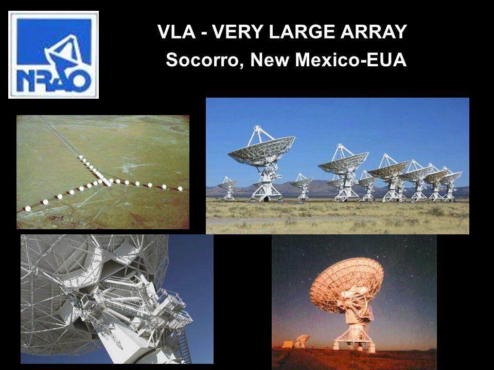 VLA - VERY LARGE ARRAY Socorro, New Mexico-EUA