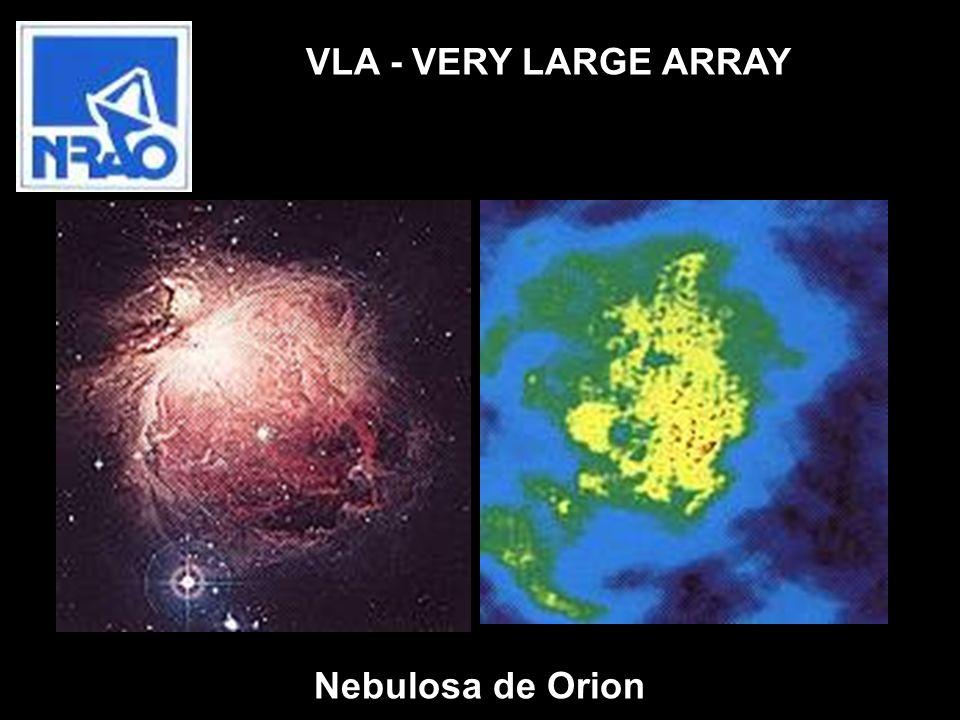 Nebulosa de Orion VLA - VERY LARGE ARRAY