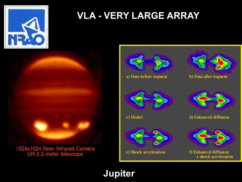 Jupiter VLA - VERY LARGE ARRAY