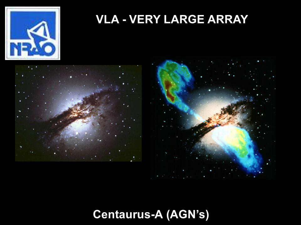 Centaurus-A (AGNs) VLA - VERY LARGE ARRAY