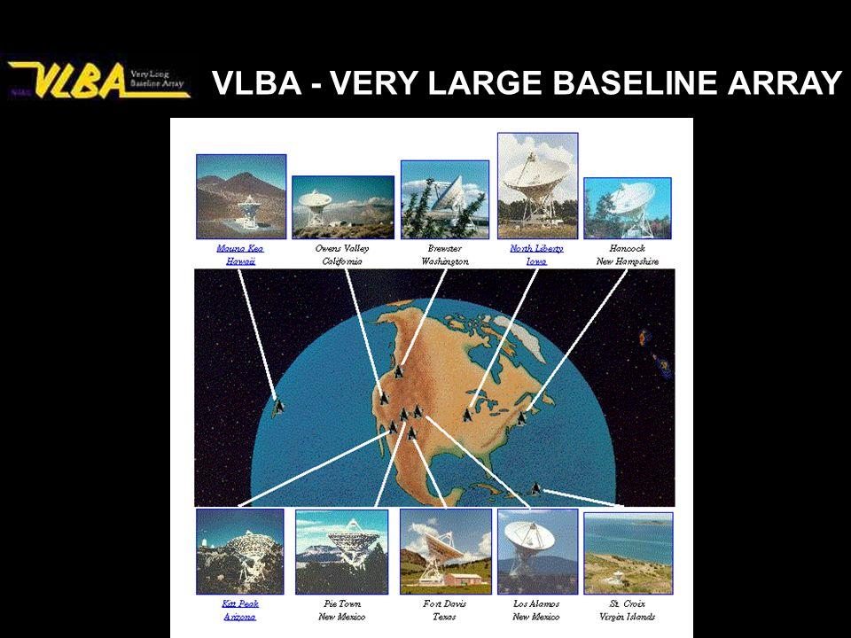 VLBA - VERY LARGE BASELINE ARRAY