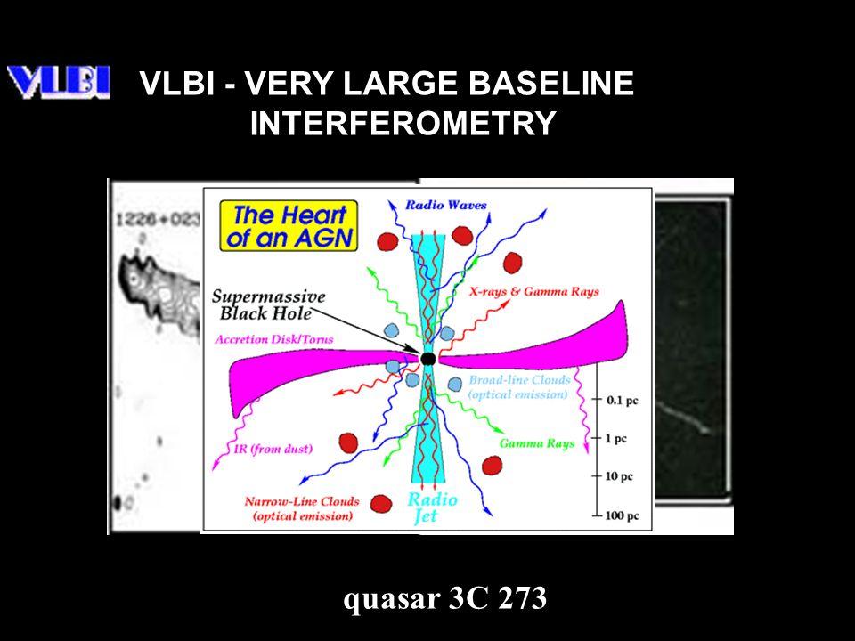 VLBI - VERY LARGE BASELINE INTERFEROMETRY quasar 3C 273