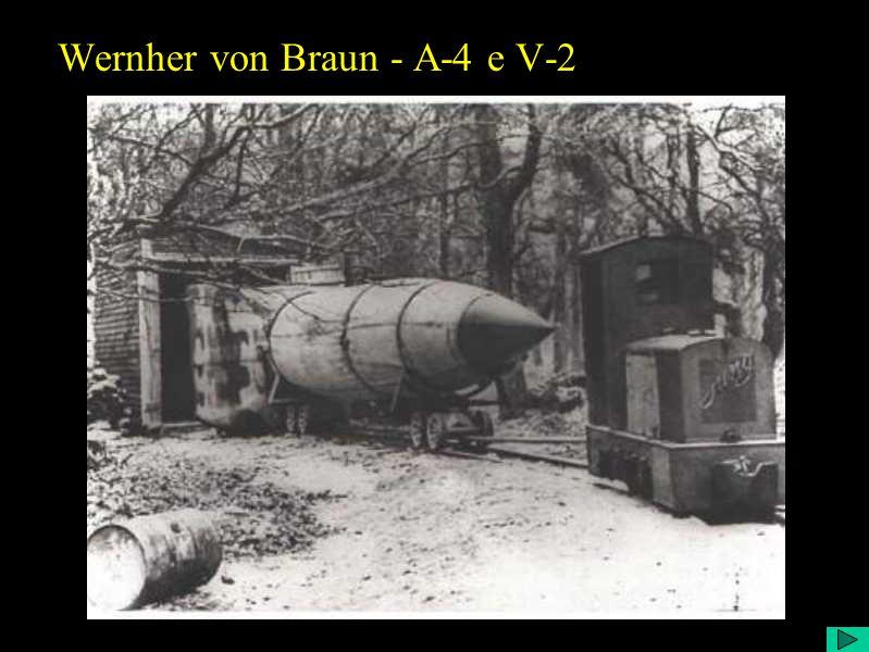 Wernher von Braun - A-4 e V-2