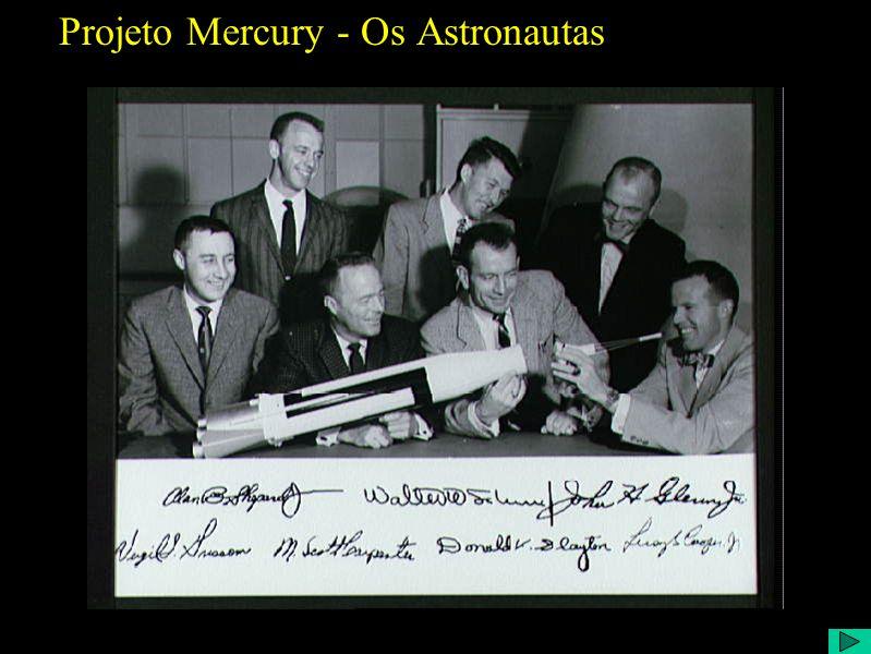 Projeto Mercury - Os Astronautas