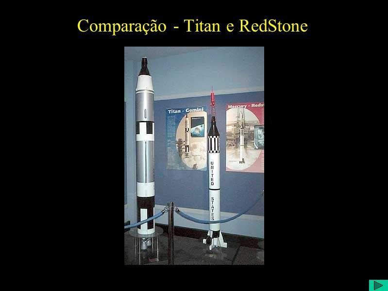 Comparação - Titan e RedStone