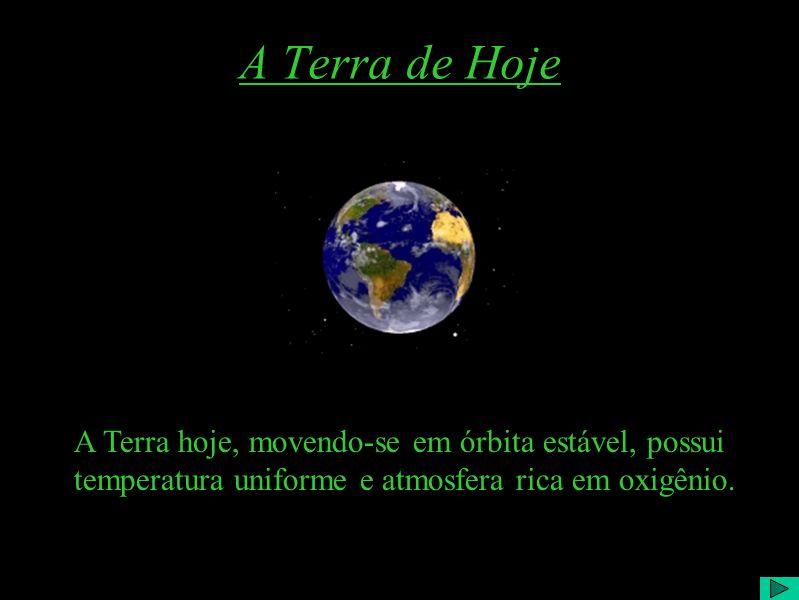 A Terra Primitiva 2 De acordo com os cientistas, nosso planeta deveria ter sido uma enorme massa pastosa incandescente que ao longo do tempo se resfri