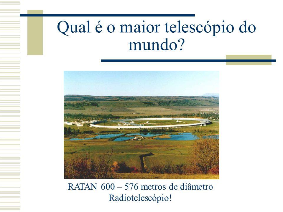 Qual é o maior telescópio ÓTICO do mundo.