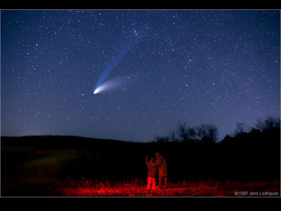 O SISTEMA SOLAR DF COMETAS Cometas famosos Hale-Bopp Hyakutake West Biela Halley (1986) Kohoutek