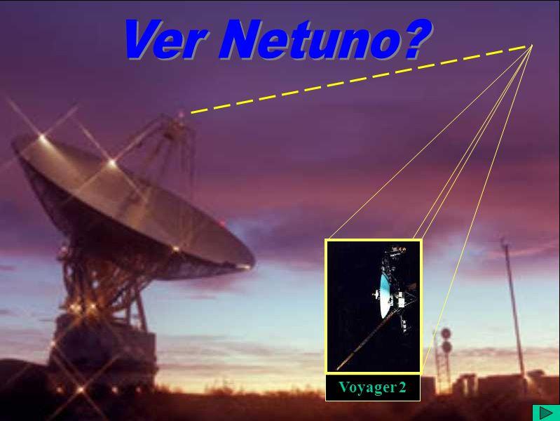 Ver Netuno? 3 Vê-se que esta imagem do Hubble, datada de 03 de fevereiro de 1995, é de qualidade consideravelmente inferior àquela do primeiro slide d