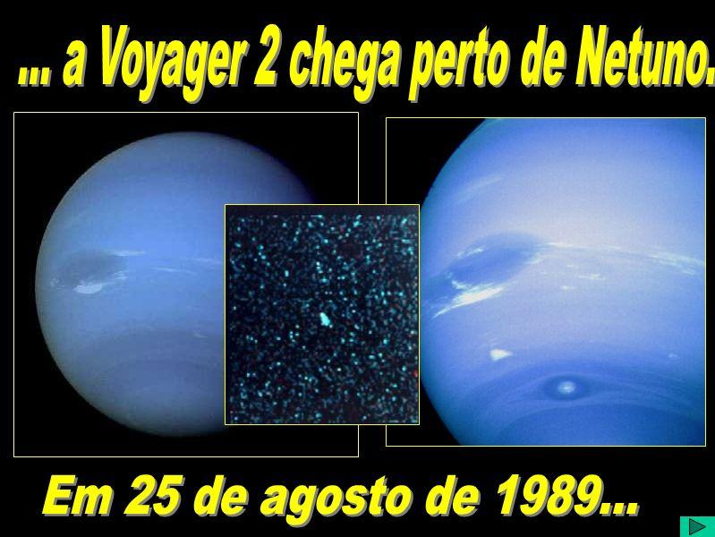 A Trajetória da Voyager 2 Numa visão heliocêntrica do sistema solar, identificamos as trajetórias das Voyagers 1 e 2. Curioso notar que a Voyager 2 fo