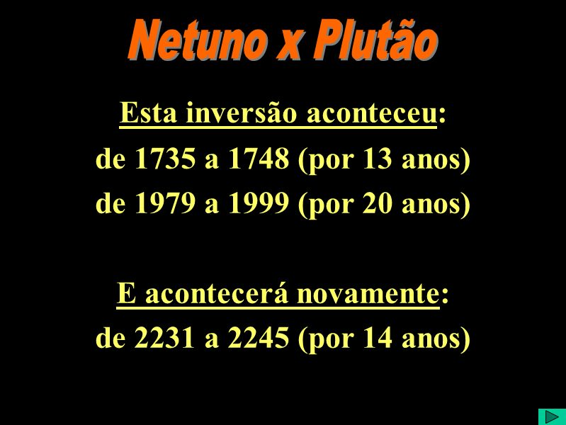 Netuno x Plutão 2 Comentário:... Crédito da Imagem: Imagem capturada do programa Satrry Night Backyard. Este software está a venda no site:. Acesso em