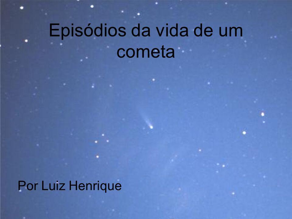 A chuva de meteoros Bielídeos Em 1872 observou-se uma chuva de meteoros com radiante ( região de fuga ) na constelação de Andrômeda.
