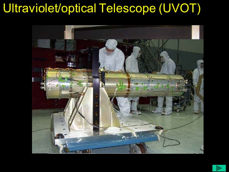 Ultraviolet/optical Telescope (UVOT)