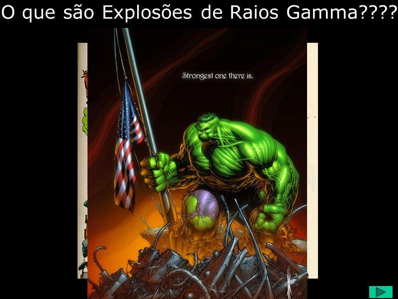 O que são Explosões de Raios Gamma