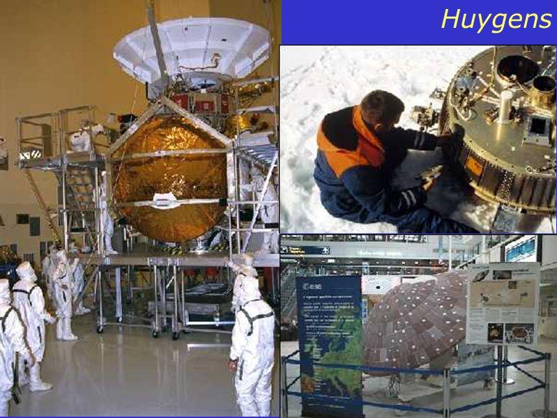 Conteúdo: E para Titan??? No final do ano chega a Titan a Missão Cassini-Huygens. Ela é basicamente igual a missão Europa Orbiter. Enquanto um fica na