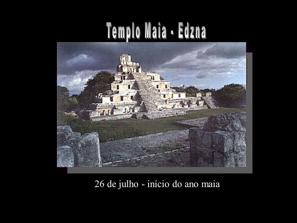 26 de julho - início do ano maia