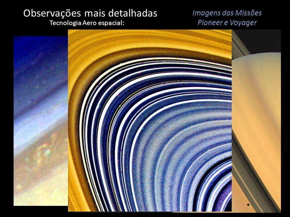 Observações mais detalhadas Tecnologia Aero espacial: Imagens das Missões Pioneer e Voyager