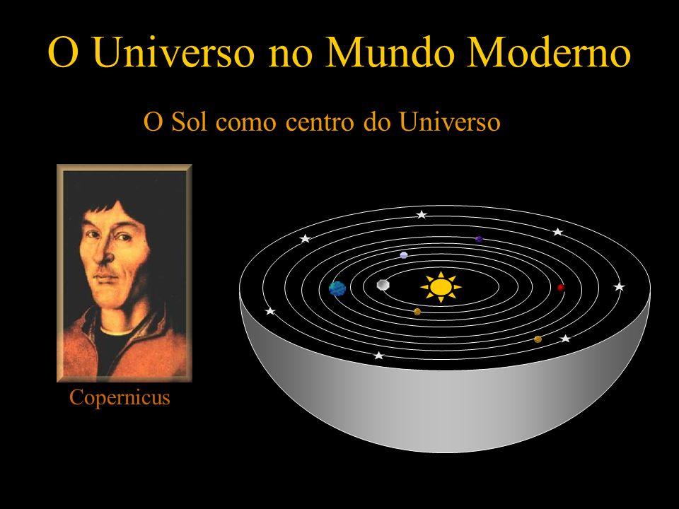 O Universo no Mundo Moderno O Sol como centro do Universo Copernicus