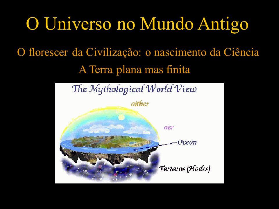 O florescer da Civilização: o nascimento da Ciência O Universo no Mundo Antigo A Terra plana mas finita