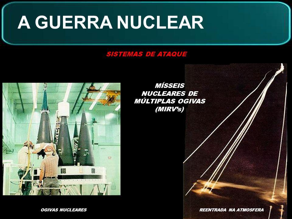 A GUERRA NUCLEAR SISTEMAS DE DEFESA SATÉLITE DE IMPACTO E FRAGMENTAÇÃOESPELHOS NO ESPAÇO