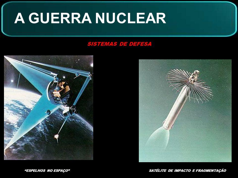 A GUERRA NUCLEAR SISTEMAS DE DEFESA PROJETO AMERICANO GUERRA NAS ESTRELAS