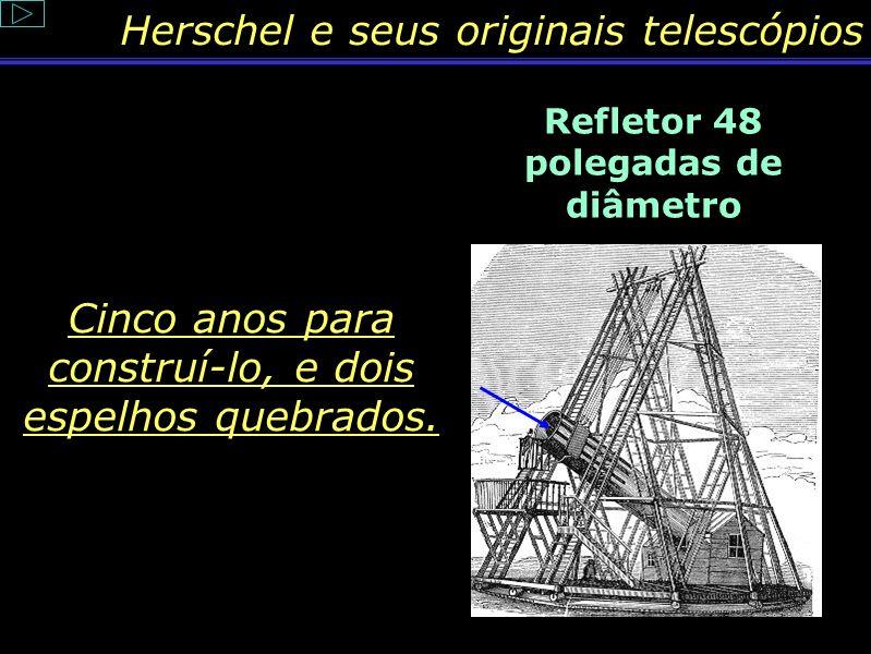 Conteúdo: Conjunção Herschel não descobriu Urano graças somente ao instrumento; mas também, pelo seu método de pesquisa, o que ele denominava: passar