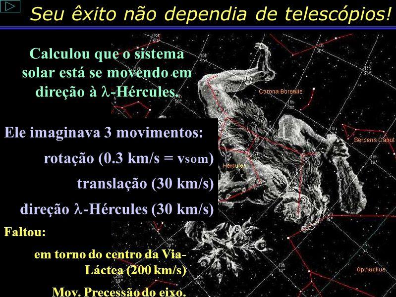 Seu êxito não dependia de telescópios! Nikolaj Kopernik (1473-1543) Heliocentrismo