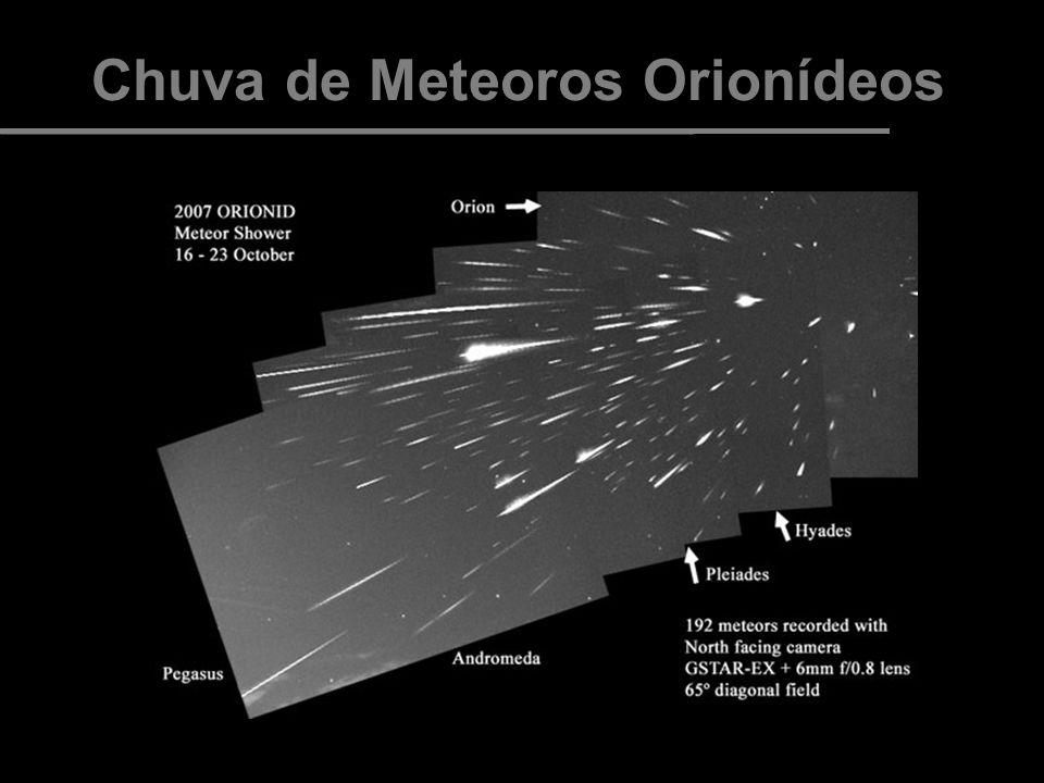Chuva de Meteoros Orionídeos FOTOS