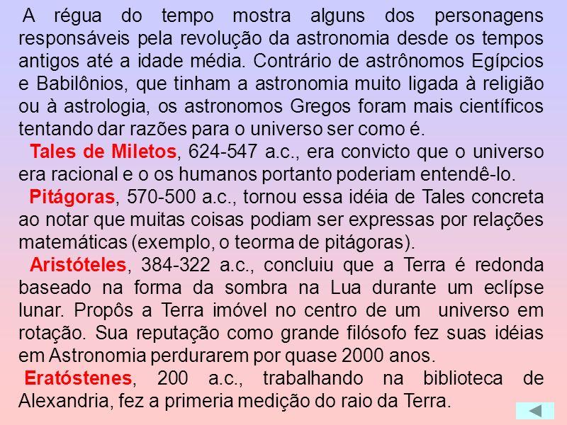 Antes dessa construção de Heráclides não havia corpos nos centros dos epiciclos: os planetas giravam nos epiciclos mas em torno de nada, o que para nó