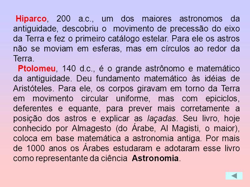A régua do tempo mostra alguns dos personagens responsáveis pela revolução da astronomia desde os tempos antigos até a idade média. Contrário de astrô