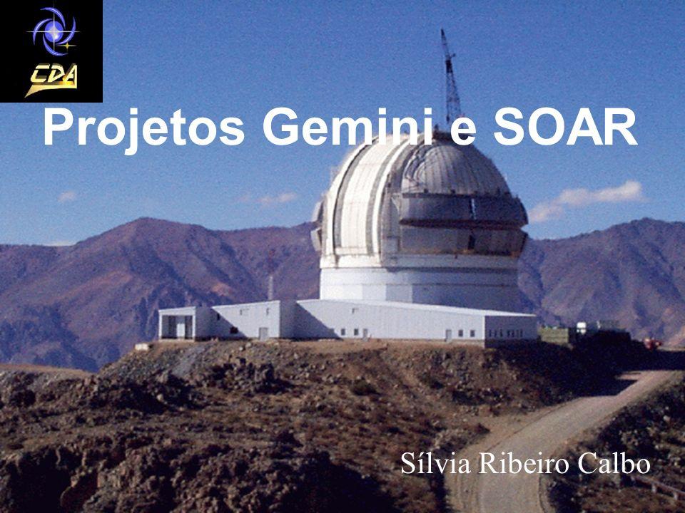 Telescópios Gemini O que é o projeto Gemini.