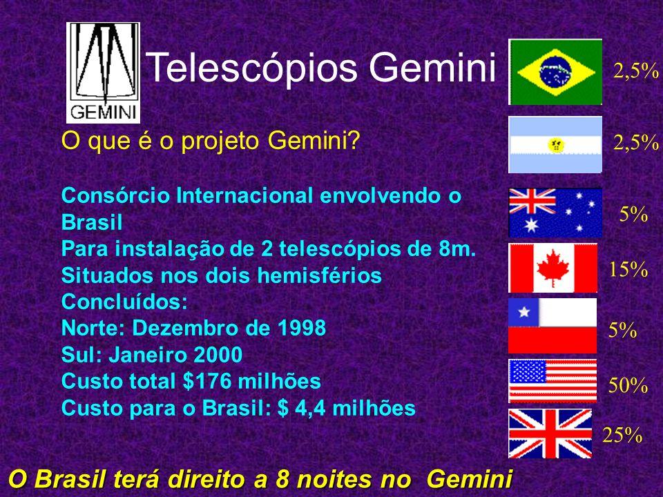 Aonde estão localizados os telescópios ? Hemisfério Sul, Cerro Pachon no Chile