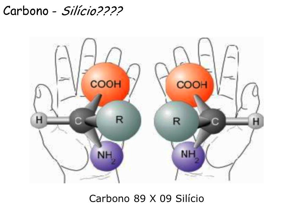 Carbono - Silício???? Carbono 89 X 09 Silício