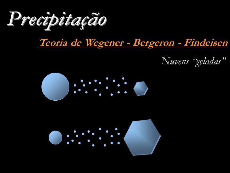 Teoria de Wegener - Bergeron - Findeisen Nuvens geladas