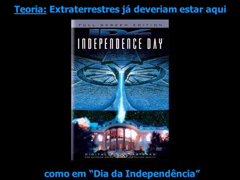 Teoria: Extraterrestres já deveriam estar aqui como em Dia da Independência