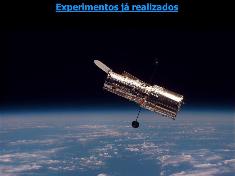 2002: Telescópio Espacial Hubble A data do Big Bang Experimentos já realizados