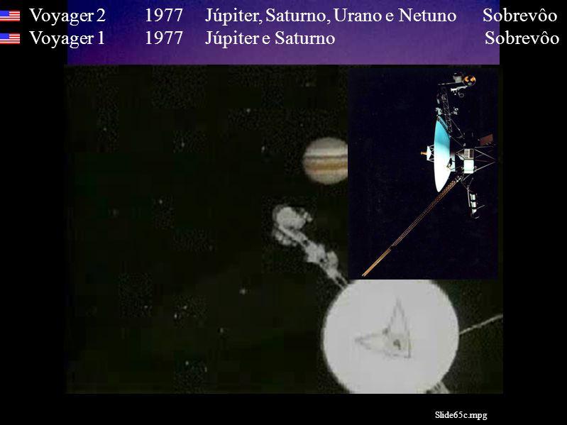 Voyager 2 1977 Júpiter, Saturno, Urano e Netuno Sobrevôo Voyager 1 1977 Júpiter e Saturno Sobrevôo Slide65c.mpg
