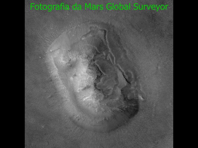 Fotografia da Mars Global Surveyor