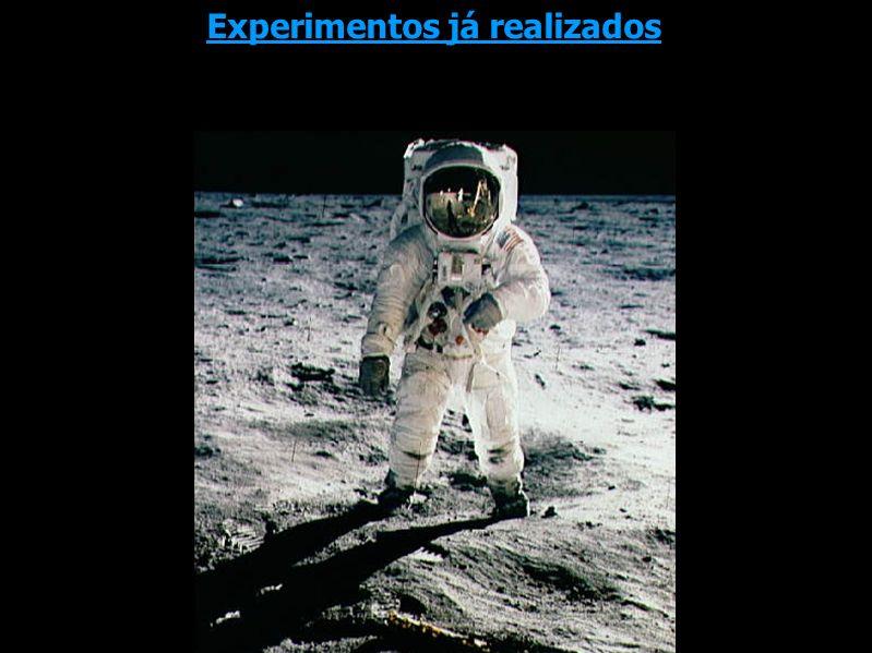 Experimentos já realizados