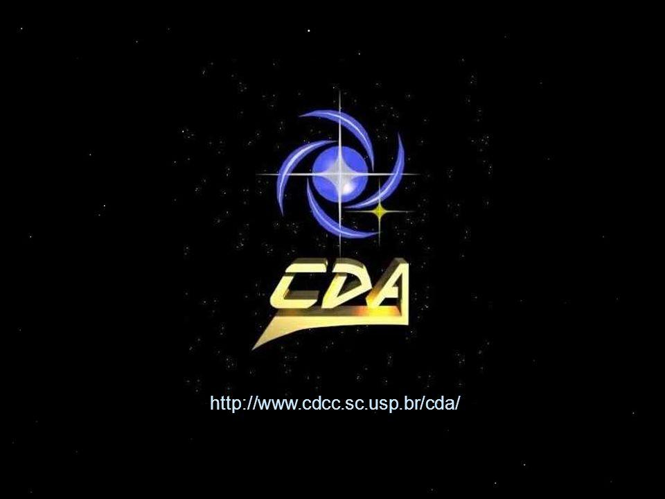 Informações Adicionais Setor de Astronomia (OBSERVATÓRIO) (Centro de Divulgação da Astronomia - CDA) Centro de Divulgação Científica e Cultural - CDCC Universidade de São Paulo - USP http://www.cdcc.sc.usp.br/cda Endereço: Av.