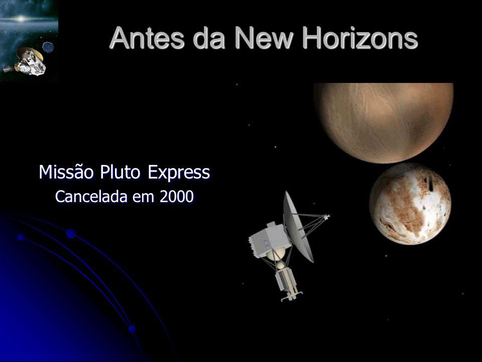 Antes da New Horizons Missão Pluto Express Cancelada em 2000