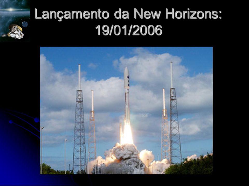 Lançamento da New Horizons: 19/01/2006