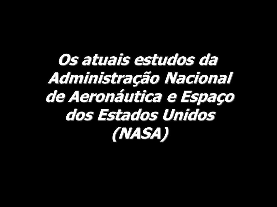 Os atuais estudos da Administração Nacional de Aeronáutica e Espaço dos Estados Unidos (NASA)