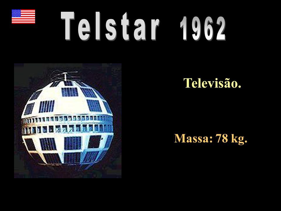 Televisão. Massa: 78 kg.